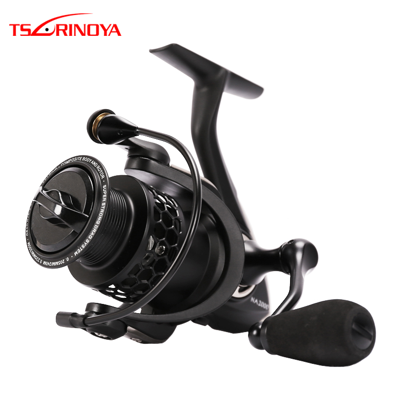 TSURINOYA NA2000 3000 4000 5000 9BB 5.2:1 Grae Ratio Saltwater Spinning Fishing Reel