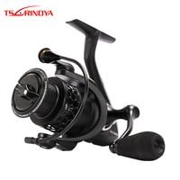 TSURINOYA NA2000 3000 3000 4000 5000 9BB 5.2:1 Grae Ratio Saltwater Fishing Reels Lightweight Spinning Fishing Reel