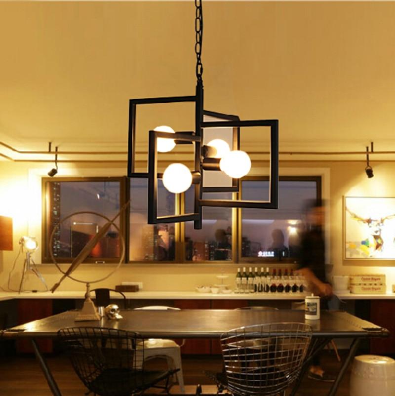 industrial Chandeliers Lamp coffee bar Luminaire for dining Room restaurant hotel chandelier fixtures lighting