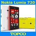"Lumia 720 Nokia Lumia 720 Dual Core 3 G WIFI GPS 6.1MP 4.3 "" IPS 8 GB de almacenamiento desbloqueado Windows mobile del teléfono del envío gratis"