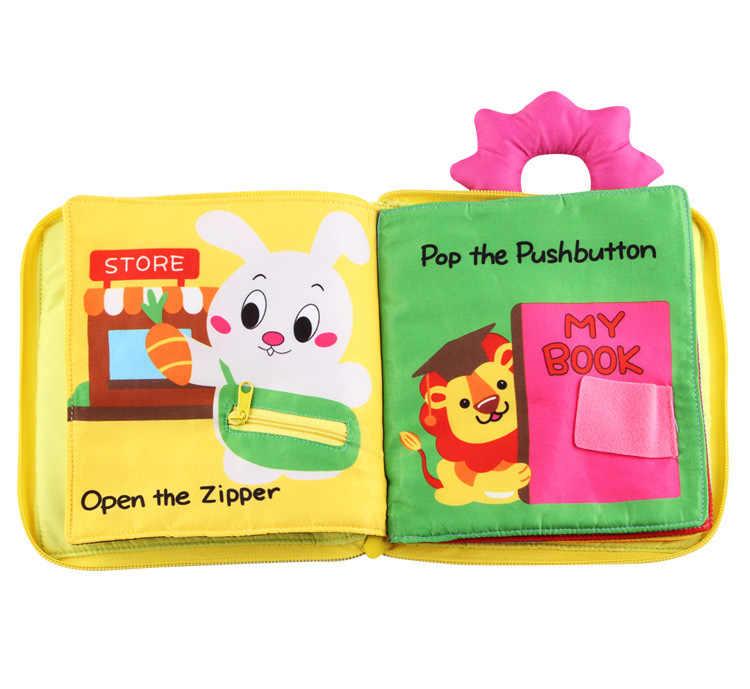 Развивающие игрушки для малышей Горячая Детская одежда для раннего развития книги Обучение Образование разворачивание деятельности книги DS19