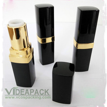 100pcs Black lipstick tube inner diameter 12.1mm 4g DIY beeswax lip balm tube cosmetic packaging container