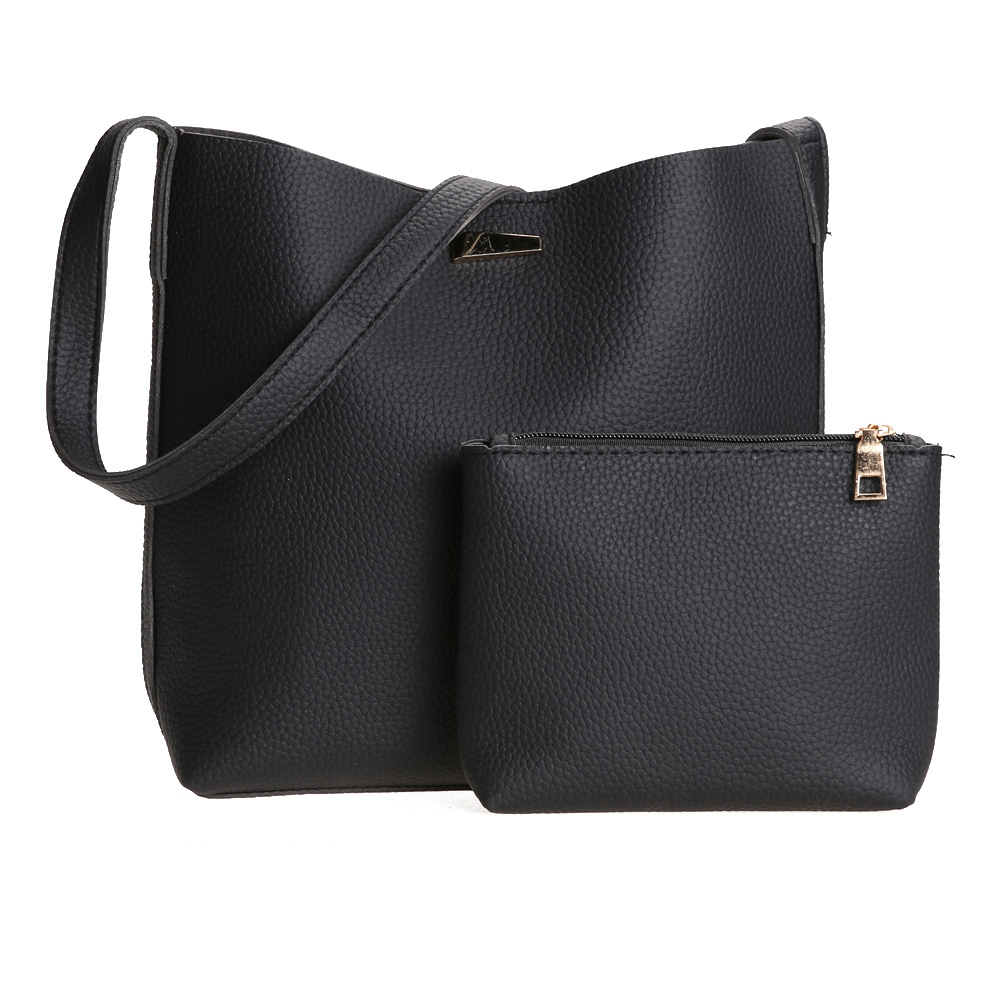 Europe Fashion Womens Bags Leather Handbag Retro Women Messenger Bags PU Leather Handbags and Cluch Wallets 2pcs/sets Composite диван угловой артмебель белла у эко кожа черный правый