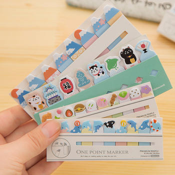 Kawaii Japan /Cake/CAT/DOG Bookmark Marker Memo pad Flags Index Tab sticky notes Label Paper Stickers Notepad stationery