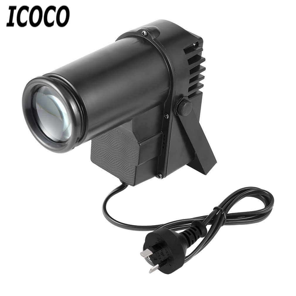ICOCO 30W RGBW LED DMX512 Stage Light Pinpot Beam Spotlight 6CH DJ/DISCO/Party/KTV Led Stage Effect Light Home Entertainment lightme professional stage dj dmx stage light 192 channels dmx512 controller console dj light for disco ktv home party night