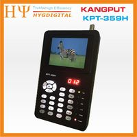 [Genuine] KPT-359H DVB-S2 fta c ku banda digital localizador de satélite medidor com MPEG-2/MPEG-4
