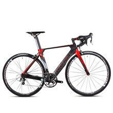 Free shipping Ultra-light carbon fiber fork & frame road bike 20 speed V brake japan transmission  racing outdoor bicycle 700C