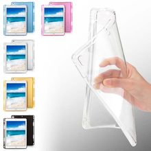 Protective Cover Case Soft Silicone Pencil Holder Slot TPU Back Cover Skin Accessories