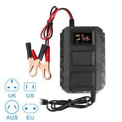 Новый Лидер продаж Интеллектуальный 12 В 20A автомобильные аккумуляторы свинцово-кислотная Smart Батарея Зарядное устройство для автомобиля мо...