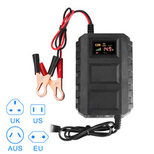 Новый Лидер продаж Интеллектуальный 12 В 20A автомобильной Батареи свинцово-кислотная Smart Батарея Зарядное устройство для автомобиля мотоцикла DXY88