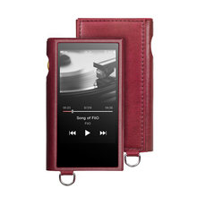 FiiO SK-M9 leather case for Music player M9 Red color(China)
