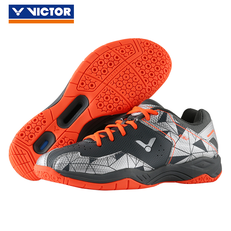 2019 New Original  Victor Brand Professional Badminton Shoes Men Women Sports Shoes Sneakers for Indoor Court tennis shoe A362CS-in Badminton Shoes from Sports & Entertainment    1
