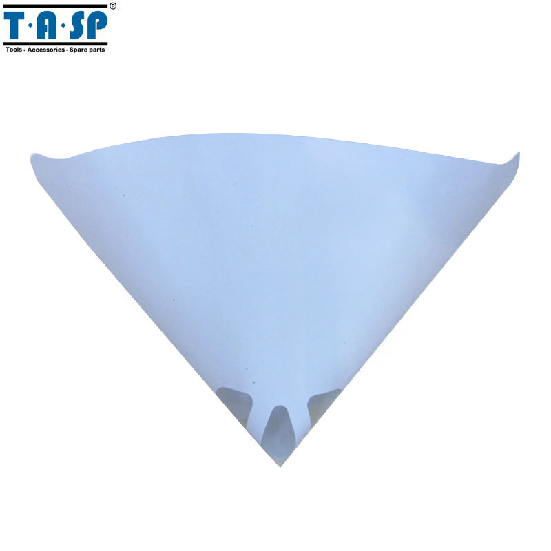 TASP 25pcs Paint Strainer Cone Funnel with Filter Disposable Fine Nylon Mesh 100 Spray Gun Painting
