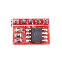 LM75A Temperature Sensor I2C Interface Development Board Module For Raspberry Pi ootdty mcp23017 16 bit io port expander module pin board i2c interface for arduino c51