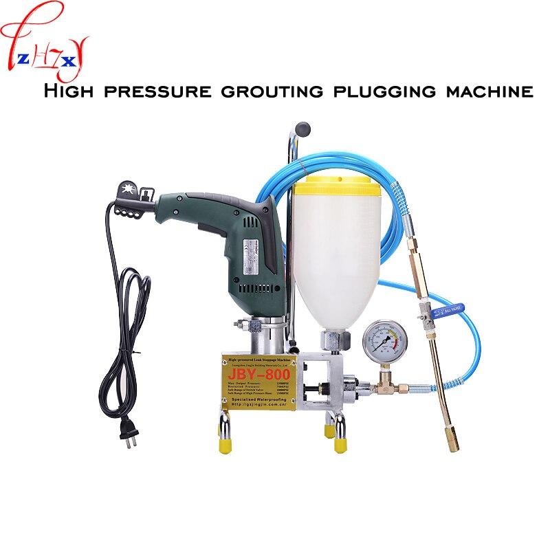 Resina de Poliuretano Grouting de Desktop Máquina de Alta Grouting Bomba Ligar Pressão 1pc Jby-800 220v