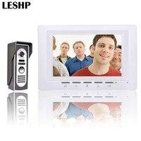7 inch Video Deurtelefoon Deurbel Intercom Kit TFT Lcd-scherm Met Security Outdoor Camera Nachtzicht Toegangscontrole Systeem