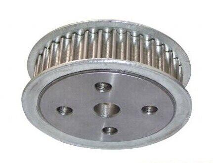 36 teeth Aluminum Alloy material timing wheel AT10 надувной батут замок 8303 happy hop