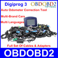 Newest V4.94 Digiprog 3 Odometer Programmer Digiprog3 Professional Mileage Correction Tool Digiprog III Full Set Cables Adapters