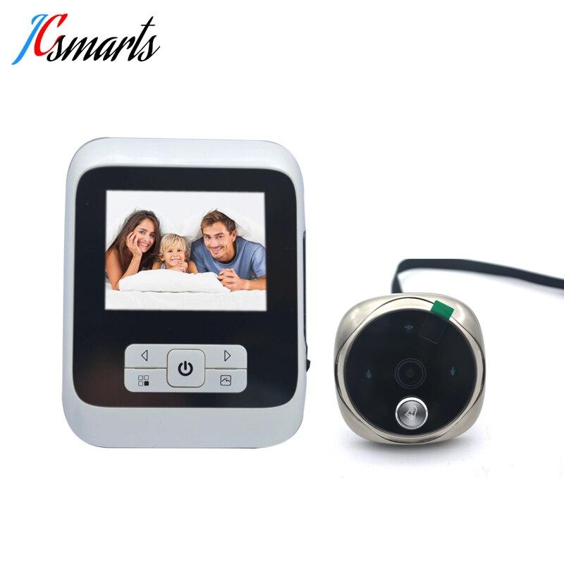 Electronic Hidden Door Bell Camera Video Peephole Door Eye Viewer Mirilla Digital 3 0 inch Monitor