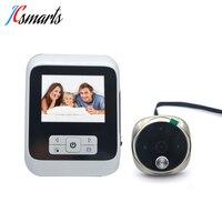 Electronic Hidden Door Bell Camera Video Peephole Door Eye Viewer Mirilla Digital 3.0 inch Monitor Auto Take Photo/Video