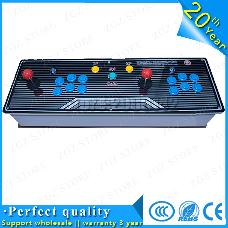 black classic 645 games Double game console/ Pandora's Box 4 arcade board machine/ joystick game controller/ VGA out put waugh e put out more flags