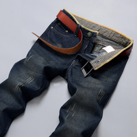 Big Size 28 44 New 2016 Boutique High End Fashion Brand Men Business Jeans Male Casual