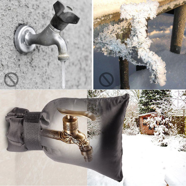 1 Pc Faucet Cover Regulator Tap Water Spray Faucet Freeze Protection ...