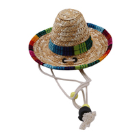 straw-sombrero-mexican-hat-pet-adjustable-buckle-multicolor-pet-straw-dog-cat-hat