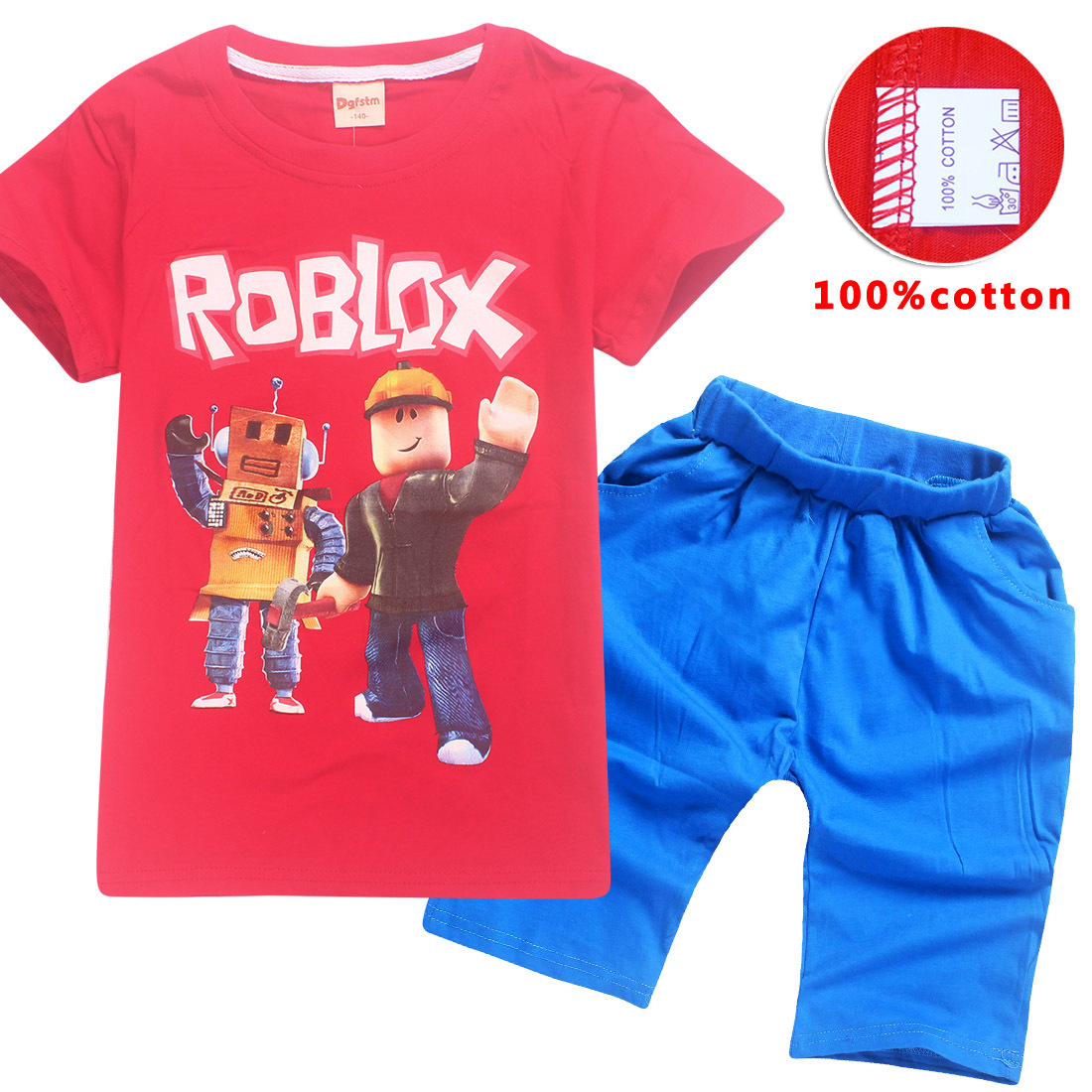 Yls 6 14years Toddler Boys Clothing Set Boutique Roblox T Shirt