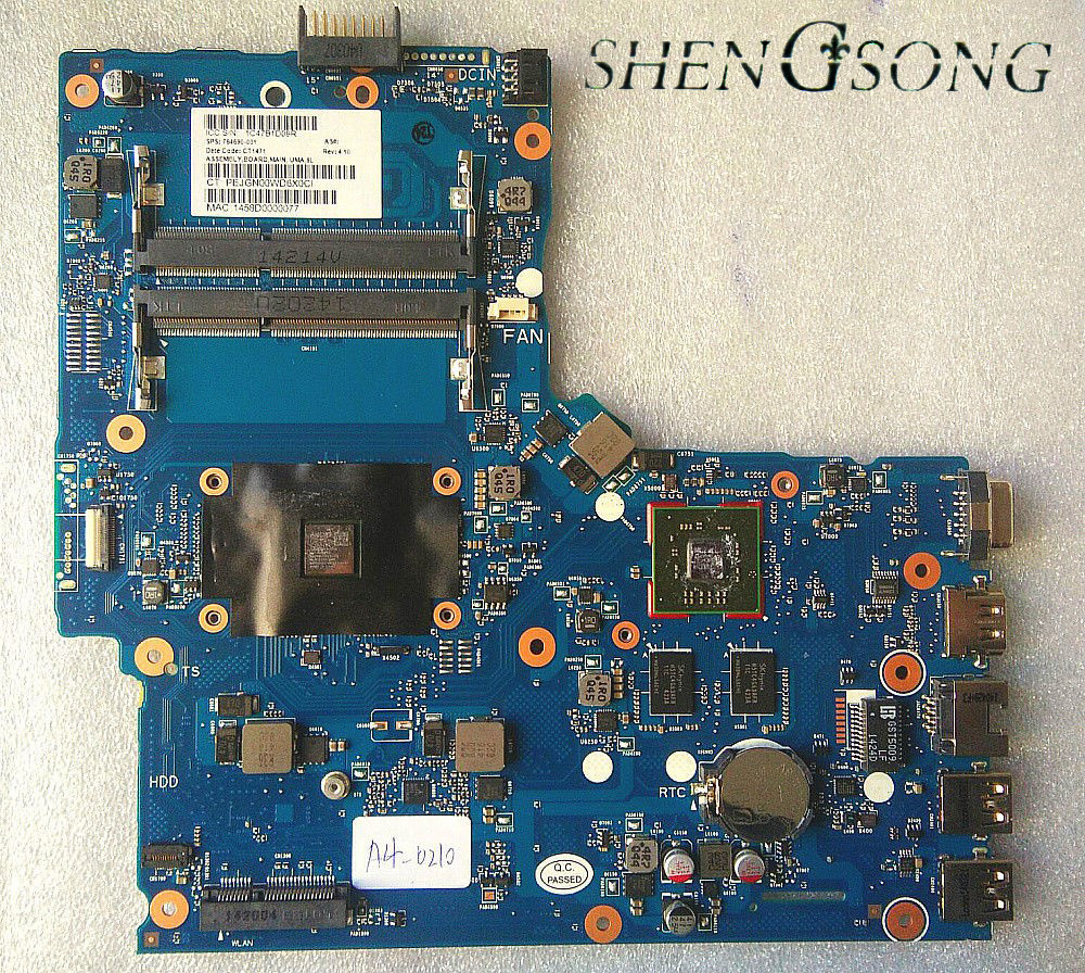 764690-501 Free Shipping 764690-001 motherboard For HP 355 G2 355-G2 Laptop motherboard A4-6210 tested working for sony mbx 165 ms90 system motherboard tested working perfect free shipping brand new