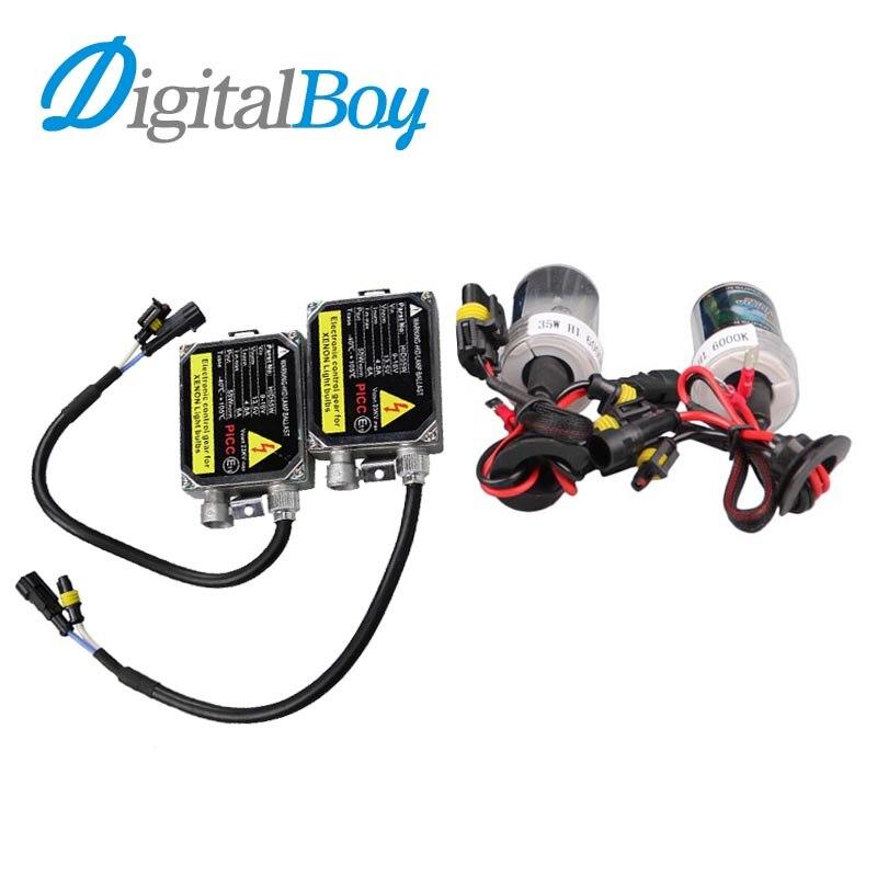 Digitalboy 9006 kit HID 55 W Lastre de Xenón 12 V Coche Electrónica Bloques de l