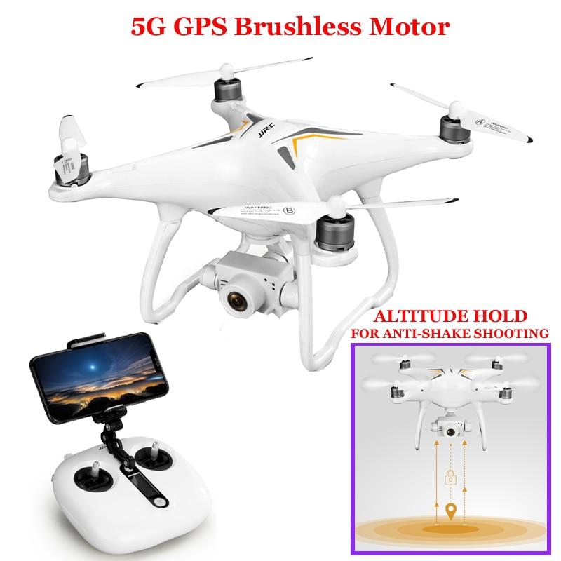 JJRC X6 GPS Drone sans brosse professionnel 5G suivez-moi WiFi Fpv 1080 P HD caméra VS Selfie Rc quadrirotor Drone jjrc x9 heron x8t