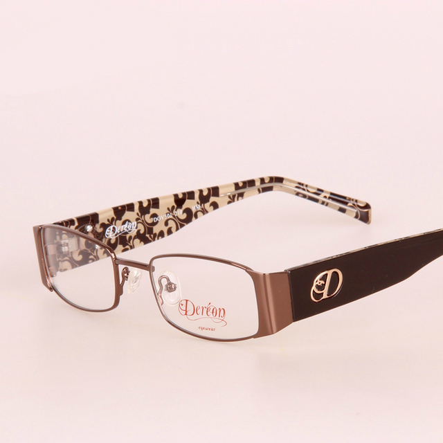 High Quality Branding Glasses With Clear Lenses Transparent Lens Optical Glasses Eyewear Frames Spectacles Myopia Brand Logo Tag