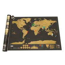 Reise Welt Scratch Map Goldfolie Schwarz Scratch Map Scratch Off Folienschicht Beschichtung Weltkarte Luxus Reise Geschenk Mapa Mundi