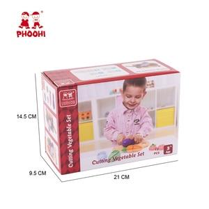 Image 4 - เด็กตัดผักของเล่นเด็ก Pretend Play ของเล่นเด็กวัยหัดเดิน PHOOHI