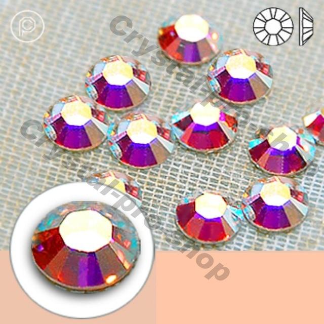 ss3 GENUINE Swarovski Elements AB Crystal (001AB) 720 pieces Hotfix Iron on  Flatback Rhinestones Craft Beads 379b3f227939
