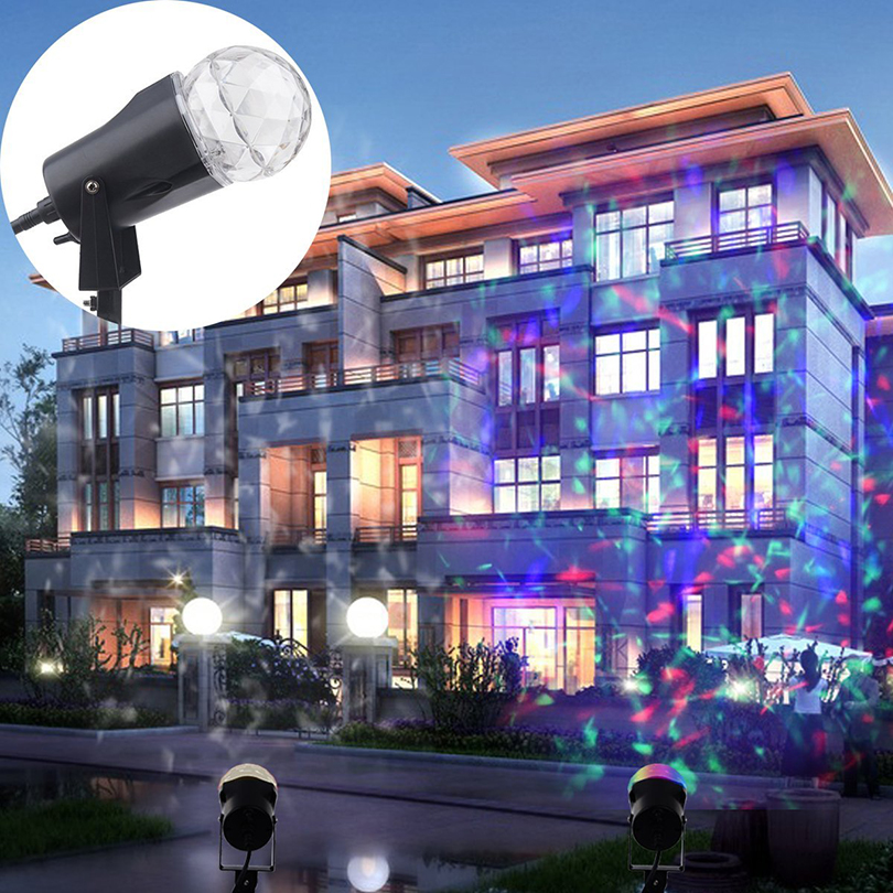 Outdoor Rotating Laser Projector Lamp