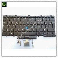Francês Azerty teclado Retroiluminado para Dell Latitude 5480 5488 7480 E5480 E5488 E7480 7490 5490 E7490 E5490 laptop FR|Teclado de substituição|Computador e Escritório -