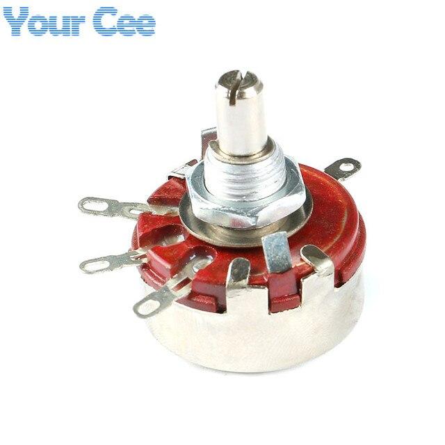5 pièces WTH118 1A 1 M 2 W potentiomètre résistance Variable composants électroniques et fournitures