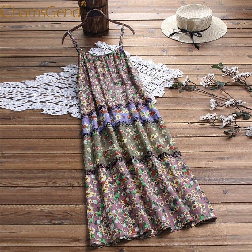 Платье большого размера женский винтажный богемский цветочный принт без рукавов с ремешками одежда макси вечернее платье для летнего праз...