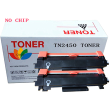 2PK TN2450 Toner cartridge for Brother HL-L2350DW L2375DW L2395DW & MFC-L2710DW L2713DW L2750DW Printer No chip 2pk tn2450 toner cartridge for brother hl l2350dw l2375dw l2395dw
