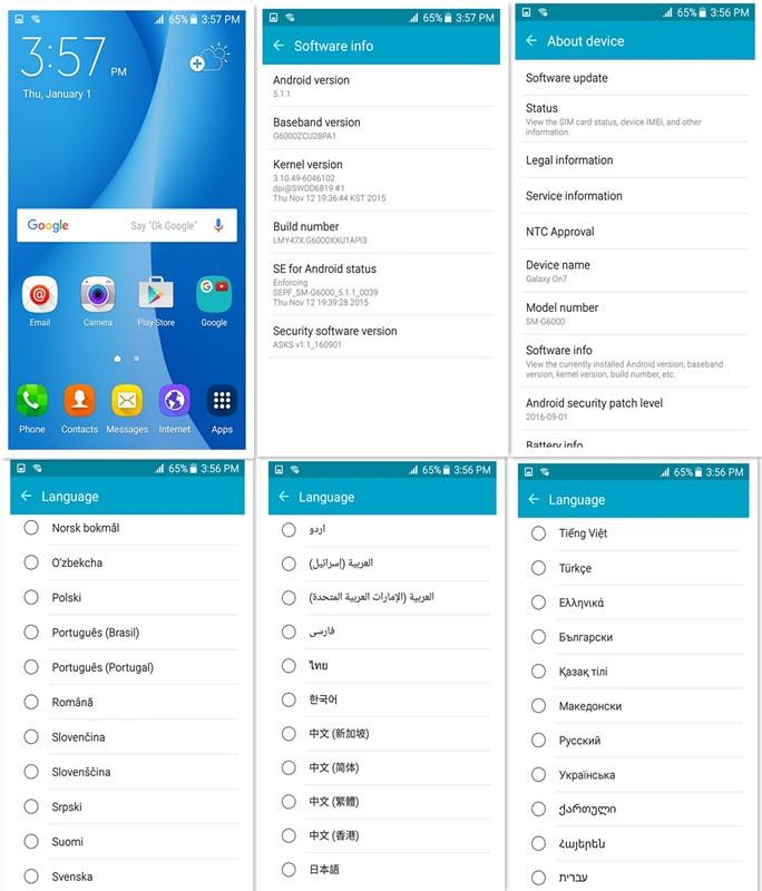 novi izvorni otključani Samsung Galaxy On7 G6000 LTE 4G 5,5-inčni - Mobiteli - Foto 5