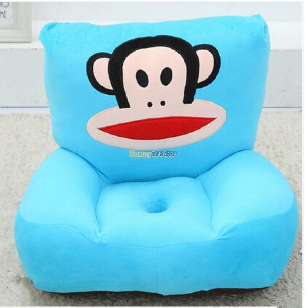 ФОТО cartoon monkey plush toy  tatami sofa,soft monkey  seat cushion for kids gift free shipping