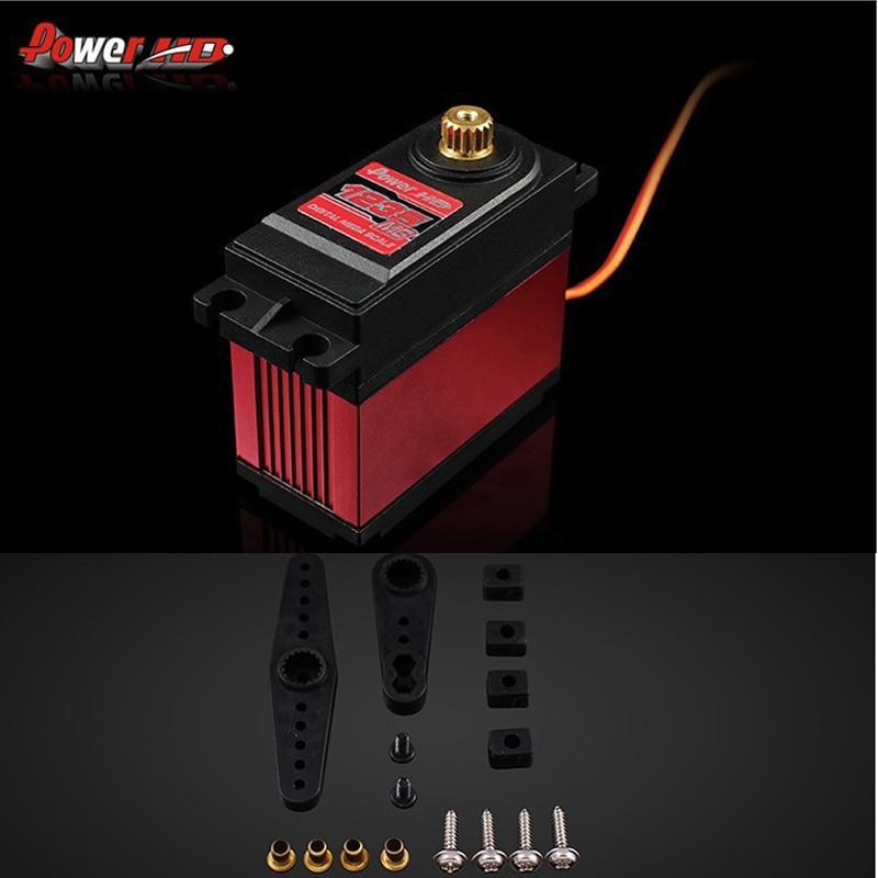 Puissance originale HD-1235MG 40Kg Servo numérique haute tension pour 1/5 voiture BAJA Compatible avec FUTABA 4PX