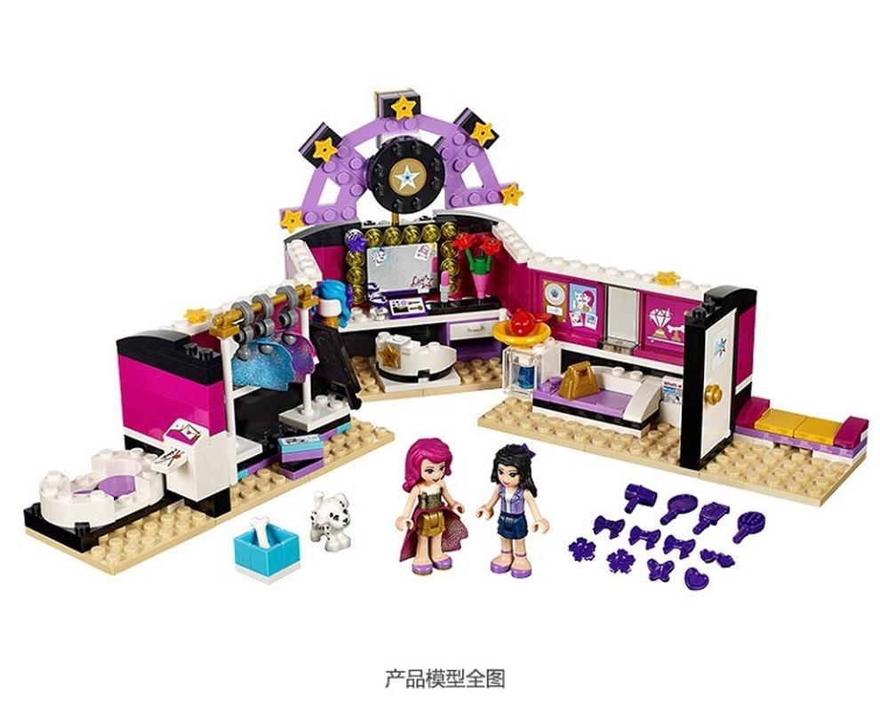 BELA 10404 Livi Pop Star Dressing Room Building Blocks Toys Compatible LegoINGly Friends 41104 for girlBELA 10404 Livi Pop Star Dressing Room Building Blocks Toys Compatible LegoINGly Friends 41104 for girl