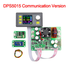 New DPS5015 LCD Constant Voltage Current Tester Step-down Programmable Power Supply Module Regulator Converter 50V 15A Voltmeter dps3003 constant voltage current step down programmable control supply power module buck voltage converter lcd color