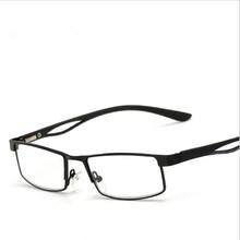 + 1 0 + 1 5 do + 4 0 metalowe pełne ramki kwadratowe dalekowzroczne okulary kobiety mężczyźni anti-zmęczenie z żywicy soczewki nadwzroczność okulary lupa tanie tanio GSBJXZ Przeciwodblaskowe WOMEN WHITE NONE Z poliwęglanu CN (pochodzenie) STOP OKULARY DO CZYTANIA Y140 2 8cm Two colors