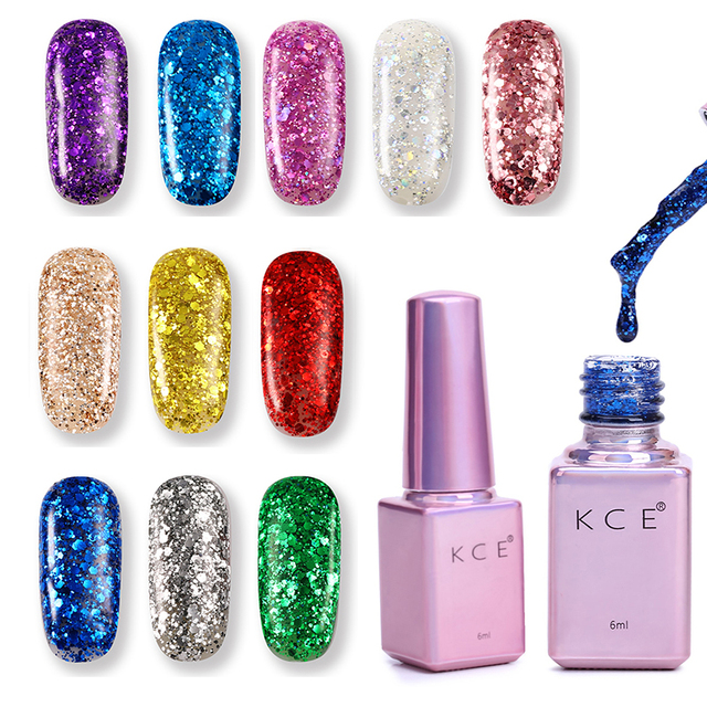 2017 New Fashion Professional UV Gel Nails Polish Colors Nail Art ...
