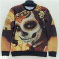 2015 New fashion  women /men hoody  vampire diaries  3d print   thin hip hop 3d Women's sweatshirt   hoodies pullover