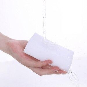 Image 3 - 50 unids/lote esponja melamina Borrador de esponja mágico para oficina de cocina Limpieza de baño Nano de alta calidad 9x6x3cm
